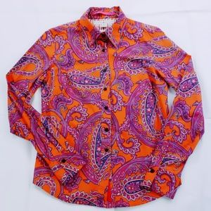 Tommy Hilfiger Button Down Paisley